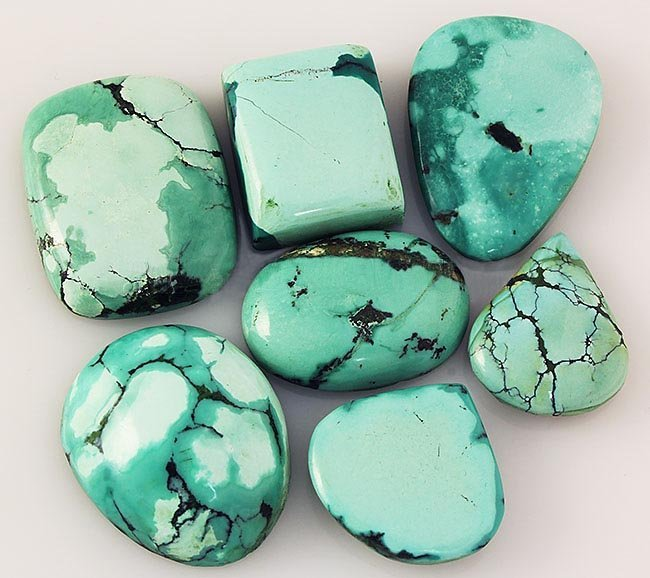 Natural Turquoise 166.70ctw Loose Small Gemstone Lot of