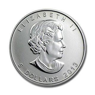 Canadian Silver Maple Leaf 2013