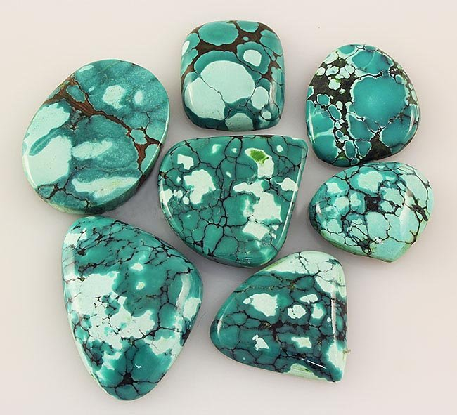 Natural Turquoise 182.96ctw Loose Small Gemstone Lot of