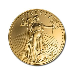 US American Gold Eagle Uncirculated Half Ounce 2013