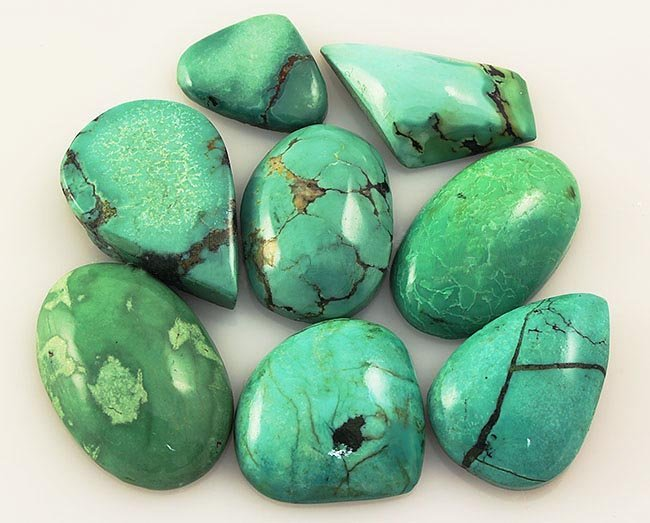 Natural Turquoise 160.80ctw Loose Small Gemstone Lot of