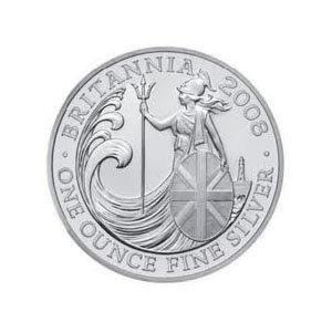 Uncirculated Silver Britannia 1 oz 2008