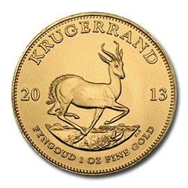 South Africa Gold Krugerrand 1 Ounce 2013