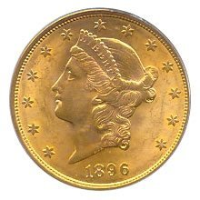 Early Gold Bullion $20 Liberty Uncirculated