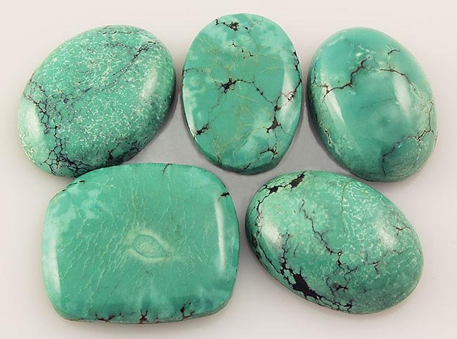 Natural Turquoise 185.32ctw Loose Small Gemstone Lot of