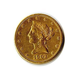 Early Gold Bullion $10 Liberty Jewelry Grade