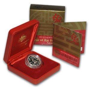 Royal Australian Mint 2011 Year of the Rabbit Silver Pr