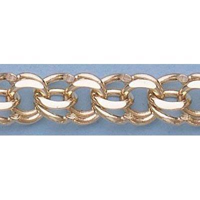 "Pure Gold 7"" 14k Gold-Yellow 7.0mm Charm Bracelets 15g"