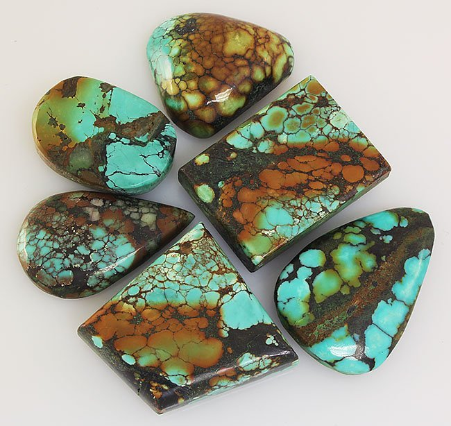 Natural Turquoise 198.41ctw Loose Small Gemstone Lot of