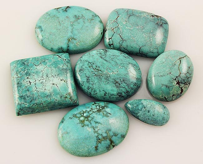 Natural Turquoise 163.60ctw Loose Small Gemstone Lot of
