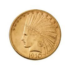 Early Gold Bullion $10 Indian Extra Fine