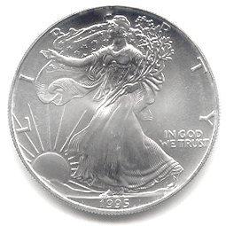 Uncirculated Silver Eagle 1991-1995