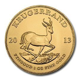 South Africa Gold Krugerrand 1 Ounce 2013