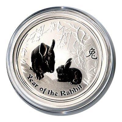 Australian Lunar Silver 2 oz Silver Series II 2011 Rabb
