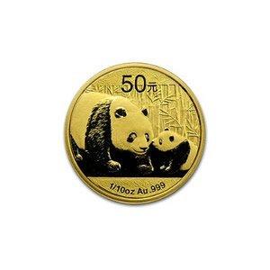 Chinese Gold Panda 10th Ounce 2011