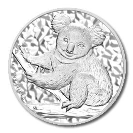 Australian Koala 1 Ounce Silver 2009