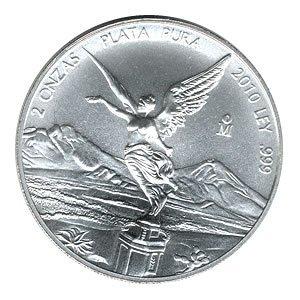 Mexican Silver Libertad 2 Ounce 2010