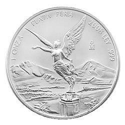 Mexican Silver Libertad 1 Ounce 2008