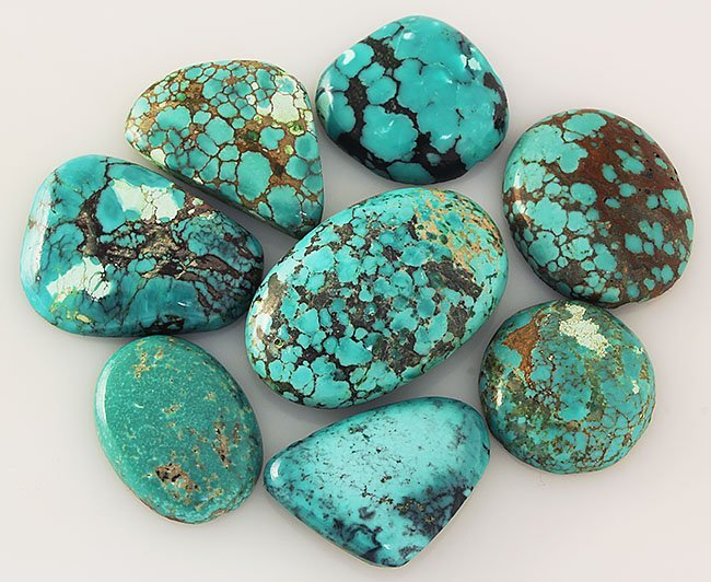 Natural Turquoise 201.90ctw Loose Small Gemstone Lot of