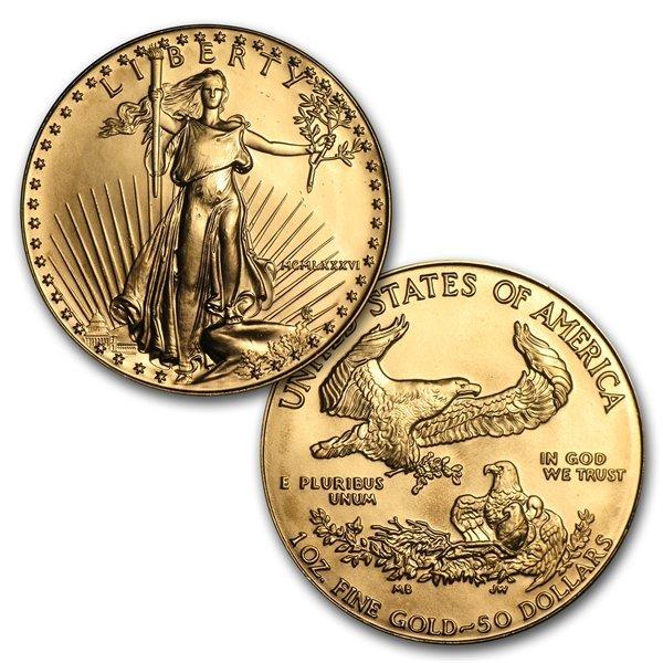 1986-2013 1 oz gold American Eagle Set (W/ Protective c