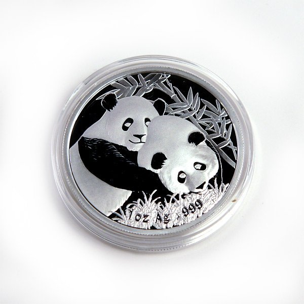 Chinese Silver Panda 1 oz 2012 - Singapore Int'l Coin