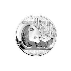 Chinese Silver Panda 1 oz 2011