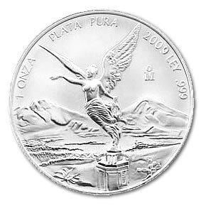 Mexican Silver Libertad 1 Ounce 2009