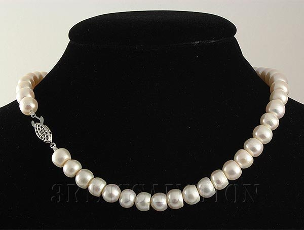 SET OF SIOPAO PEARL NECKLACE & EARRING TOTAL 326.82CTW