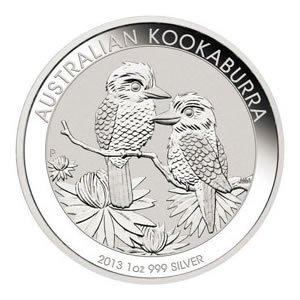 Australian Kookaburra 1 oz Silver 2013