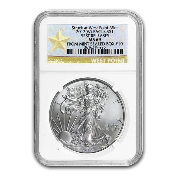 2011 (5 Coin) Silver Eagle Set MS/PF-70 NGC 25th Anniv