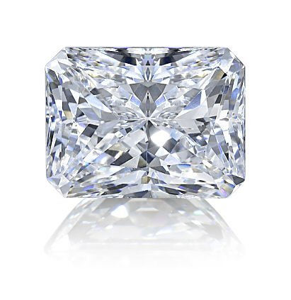Radiant 1.00 Carat Brilliant Diamond F IF