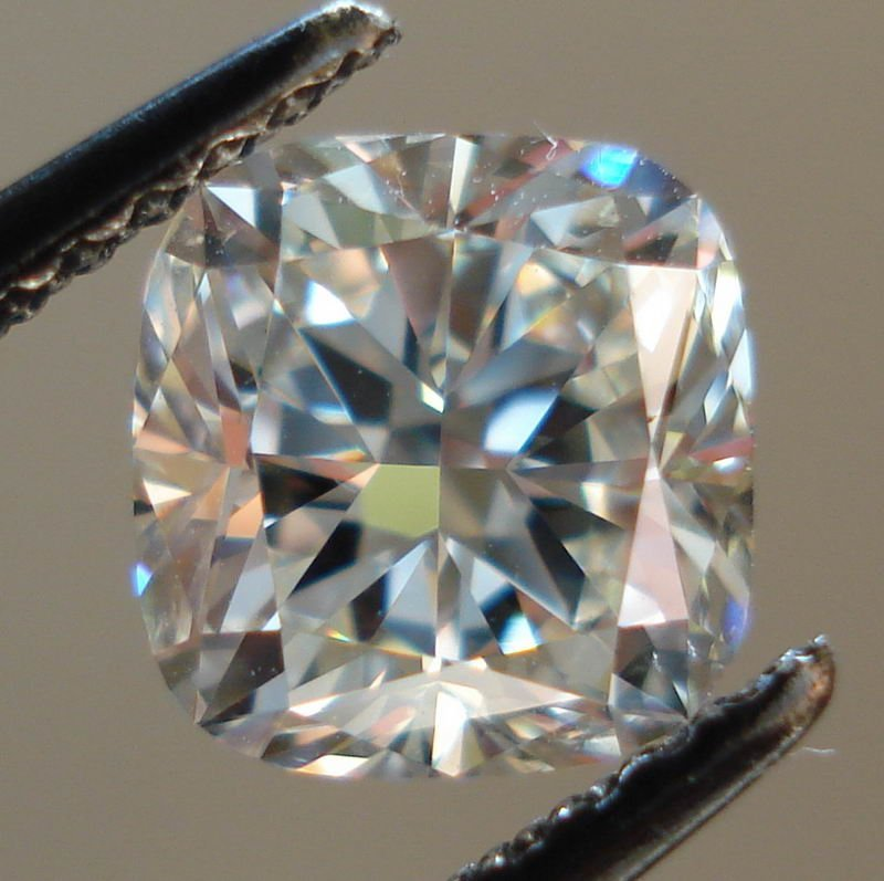Cushion 4.00 Carat Brilliant Diamond F VVS1