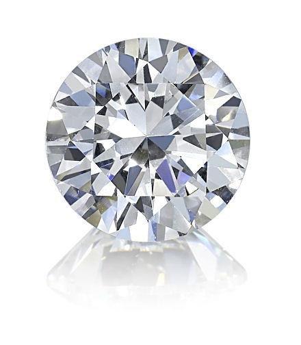 Round 2.01 Carat Brilliant Diamond D IF