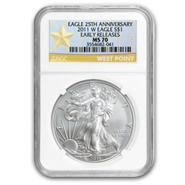2010 Silver American Eagle (NGC MS-70)