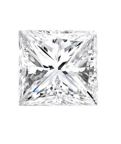 Princess 1.01 Carat Brilliant Diamond H IF