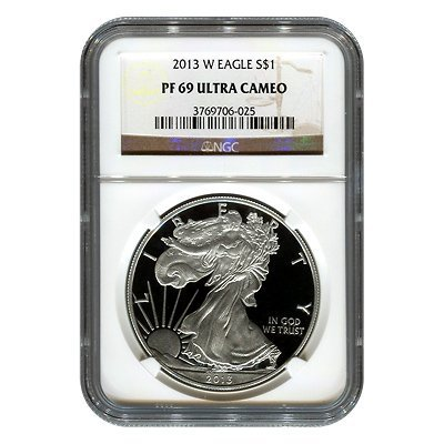 Certified Proof Silver Eagle PF69 2013