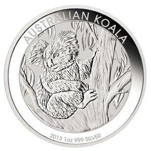Australian Koala 1 Ounce Silver 2013