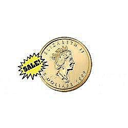 Canada Maple Leaf Tenth Ounce Gold Coin (Date Our