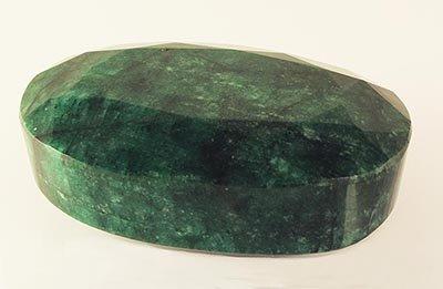 Big Emerald Beryl 1416.00ctw Loose Gemstone Oval Cut