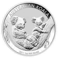 Australian Koala 1 Ounce Silver 2011