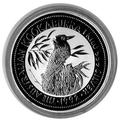 Australian Kookaburra Kilo Silver 1992
