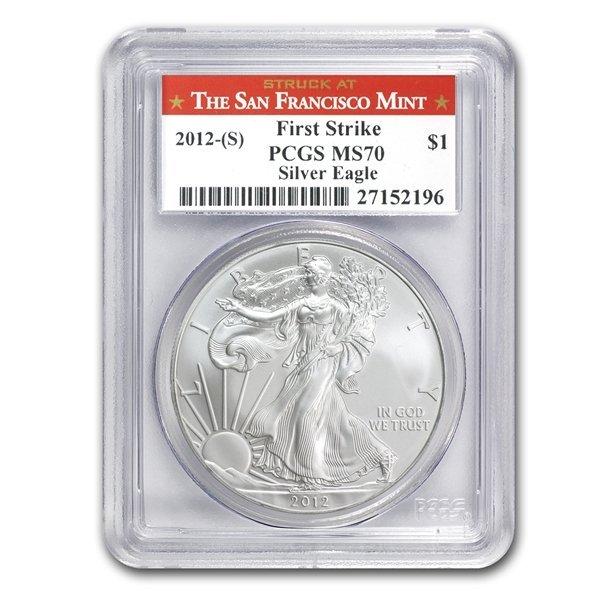 2012 1 oz Silver American Eagle MS-69 PCGS (First Strik