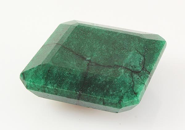 Emerald 136.30ctw Loose Gemstone 34x34x14mm SquareCut