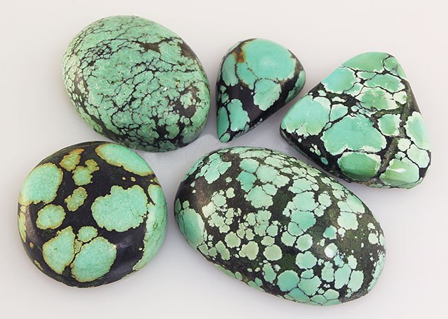 Natural Turquoise 134.36ctw Loose Small Gemstone Lot of