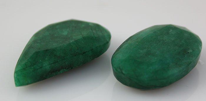 Emerald 127.48 ctw Loose Gemstone Mix Sizes & Shapes