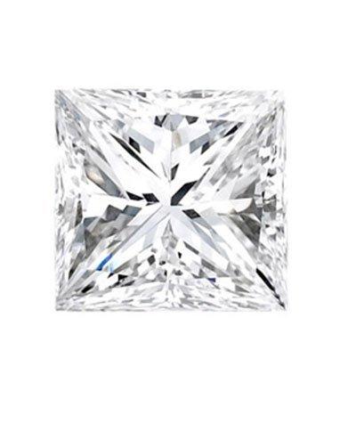 Princess 1.00 Carat Brilliant Diamond F VS2