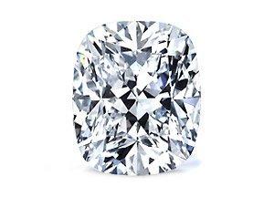 Cushion 0.81 Carat Brilliant Diamond F VVS1