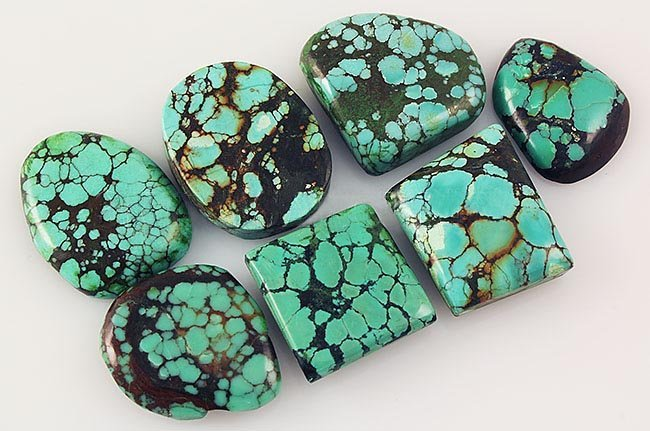 Natural Turquoise 166.22ctw Loose Small Gemstone Lot of