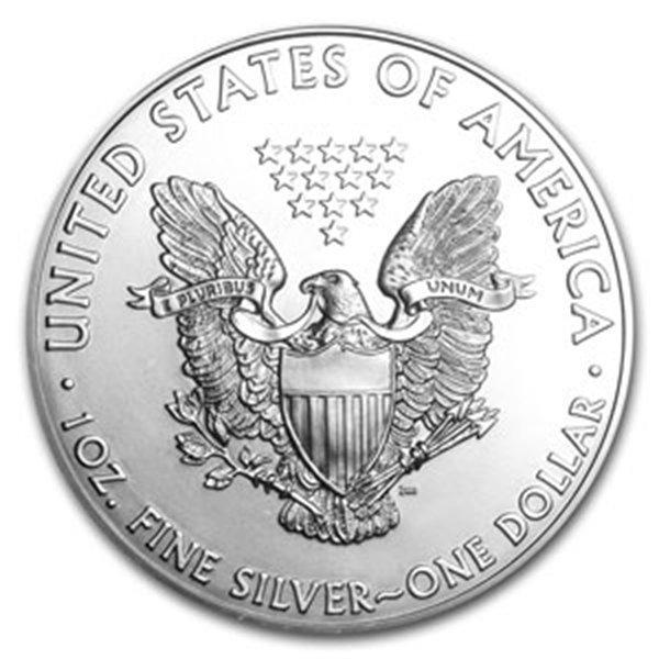 2004 1 oz Silver American Eagle MS-70 PCGS (First Strik
