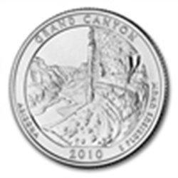 2010 5 oz Silver ATB - Grand Canyon National Park, Ariz